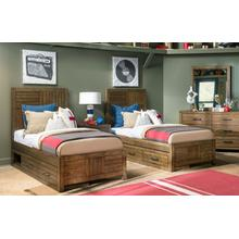 View Product - Summer Camp - Brown Panel Bed, Twin