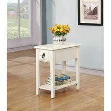 ACME Jeana Side Table - 80513 - White