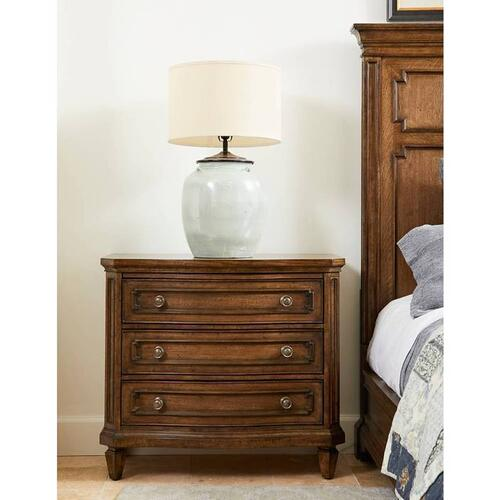 Stanley Furniture - Hillside Large Nightstand - Chestnut