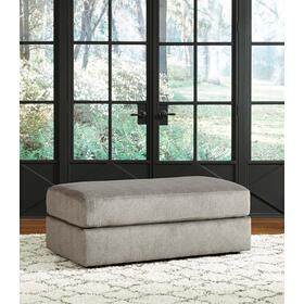 Soletren Oversized Accent Ottoman Ash
