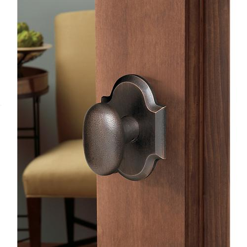 Distressed Oil-Rubbed Bronze 5024 Oval Knob