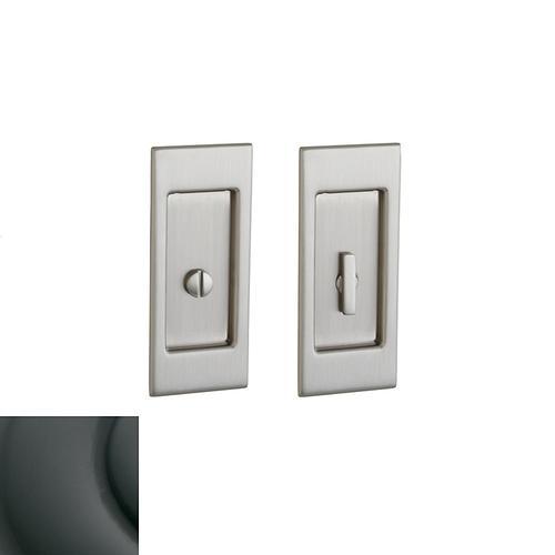 Baldwin - Oil-Rubbed Bronze PD006 Small Santa Monica Pocket Door