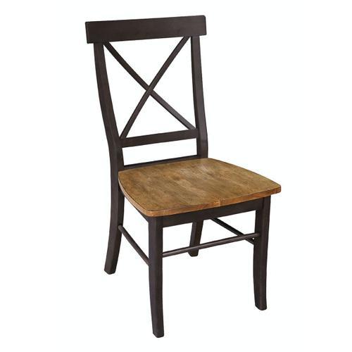 John Thomas Furniture - X-Back Chair in Hickory Coal