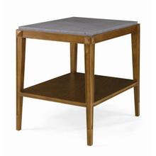 Artefact Lorrain Side Table With Stone Top