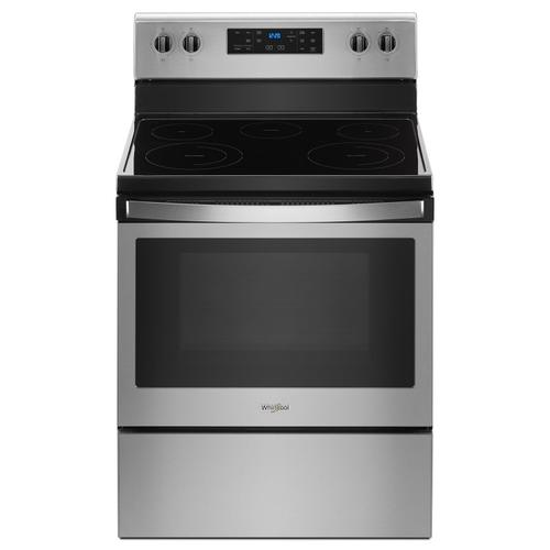 Gallery - 5.3 cu. ft. Freestanding Electric Range with 5 Elements Fingerprint Resistant Stainless Steel