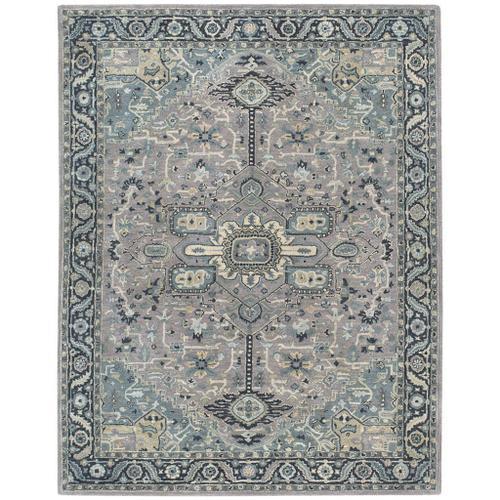 Izmir-Serapi Grey Blue - Rectangle - 3' x 5'