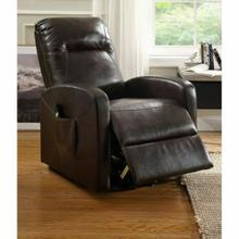ACME Kasia Recliner w/Power Lift - 59458 - Espresso PU