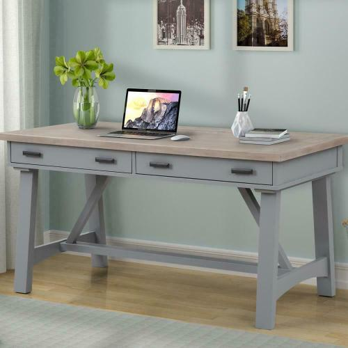 See Details - AMERICANA MODERN - DOVE 60 in. Writing Desk