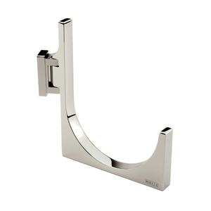 Polished Chrome Pivoting Towel Hook - Large