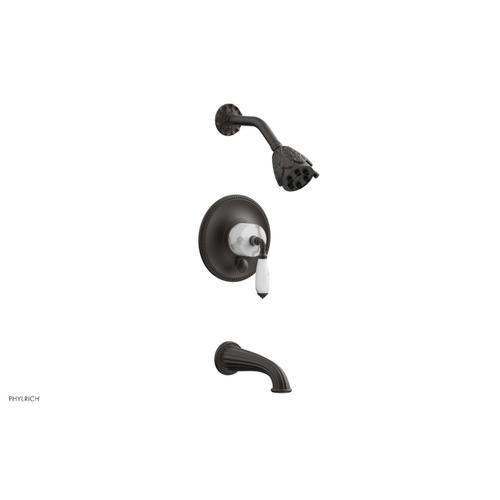 VALENCIA Pressure Balance Tub and Shower Set PB2338B - Oil Rubbed Bronze