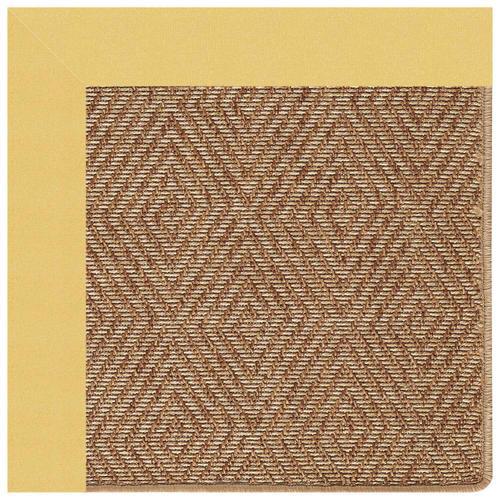 "Capel Rugs - Islamorada-Diamond Canvas Canary - Rectangle - 24"" x 36"""