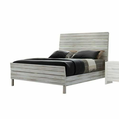 ACME Shayla California King Bed - 23964CK - Antique White
