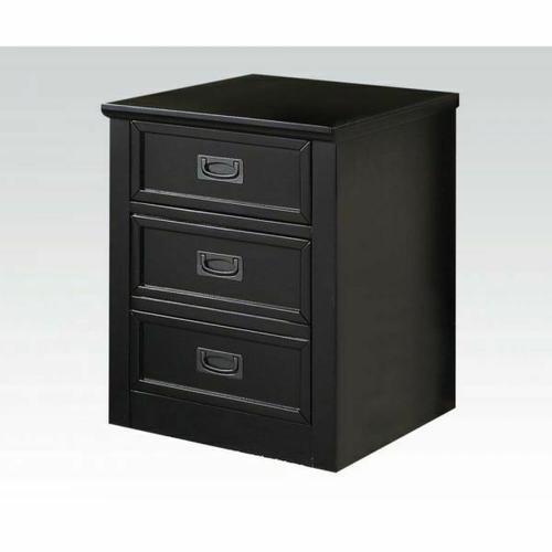 Acme Furniture Inc - ACME Pandora File Cabinet - 92268 - Black