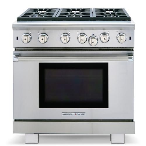 "36"" Performer Ranges Natural Gas"