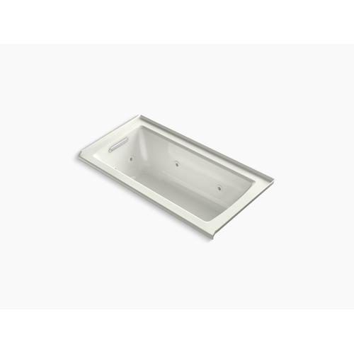 """Dune 60"""" X 30"""" Alcove Whirlpool With Integral Flange and Left-hand Drain"""