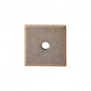 Square Backplate 1 Inch - German Bronze