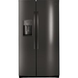 GE Profile™ Series ENERGY STAR® 25.3 Cu. Ft. Side-by-Side Refrigerator Product Image