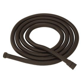 """Tuscan Brass 79"""" Metal Shower Hose Assembly"""