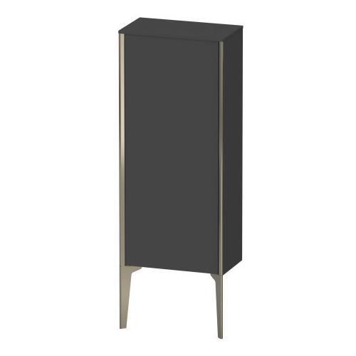 Semi-tall Cabinet Floorstanding, Graphite Matte (decor)