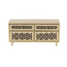 "WD JEWELRY CHEST 15""W, 7""H"