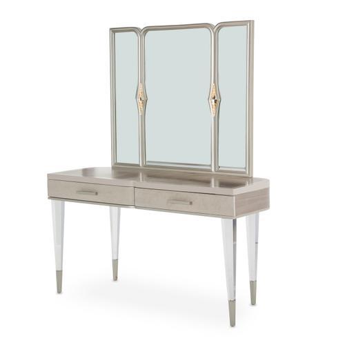 Vanity Desk & Mirror 2pc