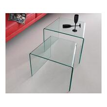The Angolo Clear End Tables