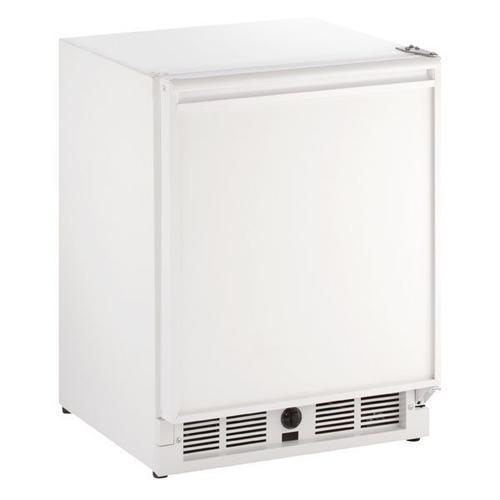 "U-Line - 21"" Refrigerator With White Solid Finish (115 V/60 Hz Volts /60 Hz Hz)"