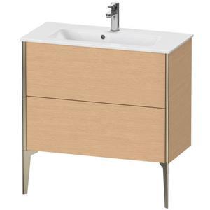 Duravit - Vanity Unit Floorstanding Compact, Brushed Oak (real Wood Veneer)