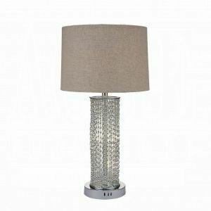 ACME Britt Table Lamp - 40121 - Chrome