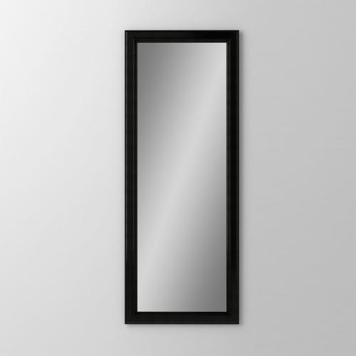 """Main Line 19-1/8"""" X 39-7/8"""" X 1-5/8"""" Bryn Mawr Framed Mirror In Brushed Black"""