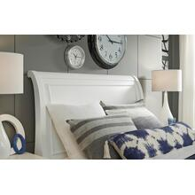Canterbury - White Complete Sleigh Bed, Twin 3/3