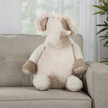 """Plushlines N1463 Ivory 1'10"""" X 2'2"""" Plush Animal"""