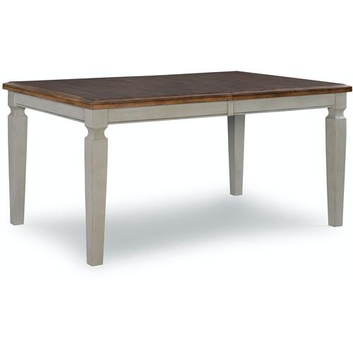 Extension Table in Hickory & Stone