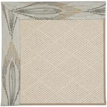 "Creative Concepts-White Wicker Empress Grain - Rectangle - 24"" x 36"""
