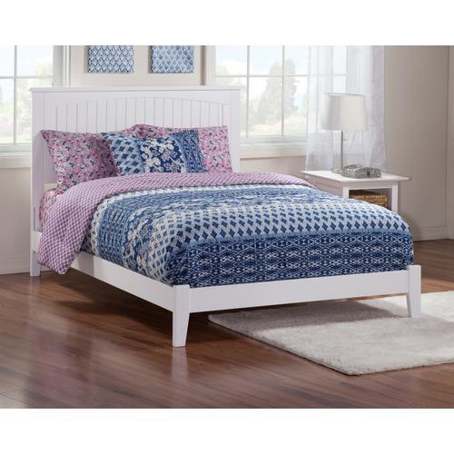 Nantucket Full Bed in White