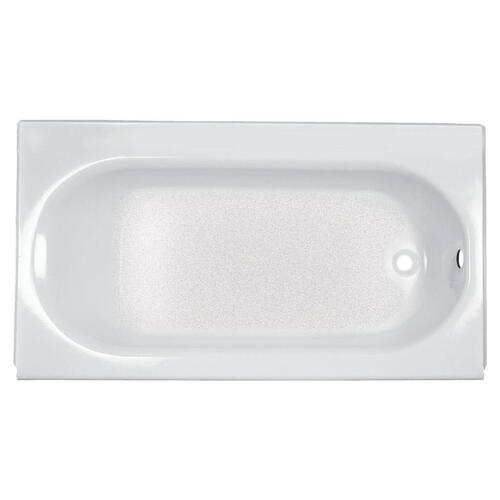 Princeton 60x34 Inch Integral Apron Bathtub with Luxury Ledge  American Standard - Arctic White