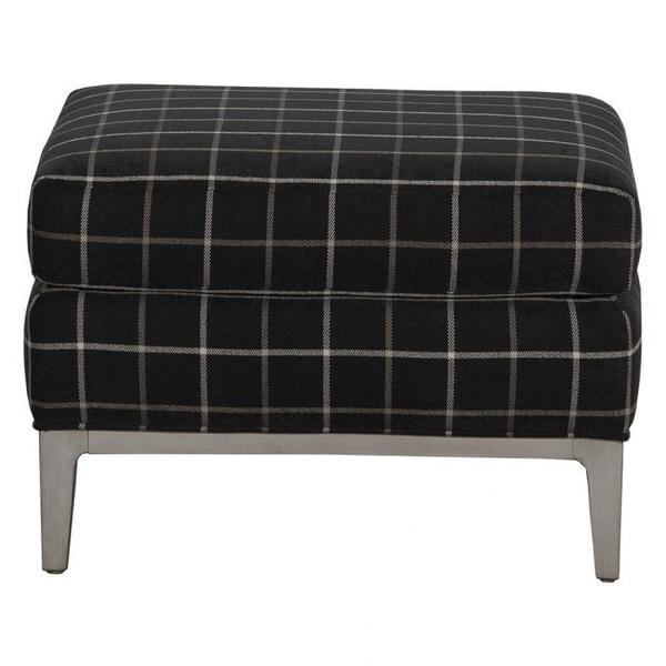 See Details - Rosewood Ottoman