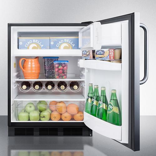 """24"""" Wide Built-in Refrigerator-freezer, ADA Compliant"""
