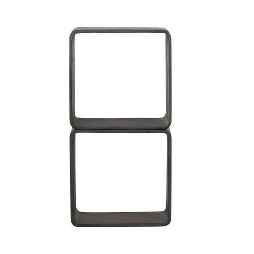 VIG Furniture - Modrest Pickens - Modern Dark Grey Concrete Cube Shelf