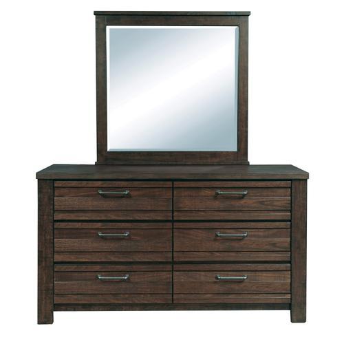 Ruff Hewn Landscape Mirror