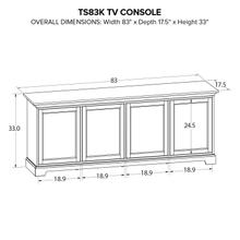TS83K Custom TV Console