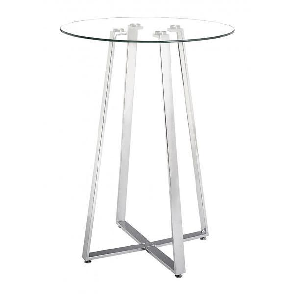 See Details - Lemon Drop Bar Table Chrome