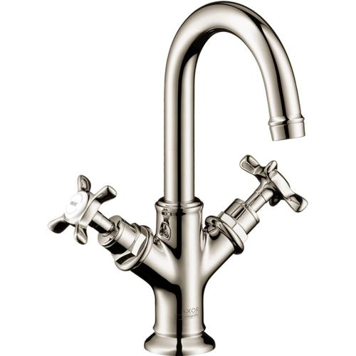 AXOR - Polished Nickel 2-Handle Faucet 160 with Pop-Up Drain, 1.2 GPM
