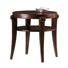 704030067 Metropolis Round End Table
