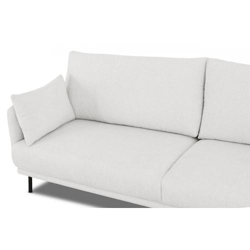 VIG Furniture - Divani Casa Higgins - Modern White Fabric Loveseat
