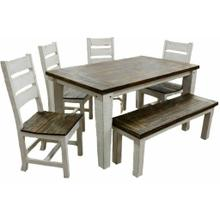 See Details - Weathered White Econo 5' Dining