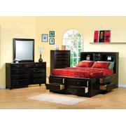 Phoenix Cappuccino Queen Five-piece Bedroom Set Product Image