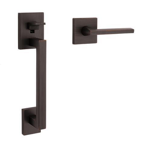 Venetian Bronze Minneapolis Handle Grip Sectional