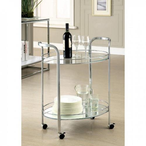 Furniture of America - Loule Serving Cart