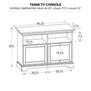 TS46B Custom TV Console Product Image